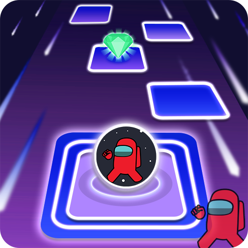 Among Us imposter Dancing hop ball 3.0 APKModDownload for android