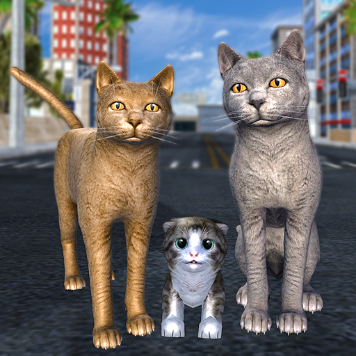 Cat Family Simulator Stray Cute Kitty Game 10.1 APKModDownload for android