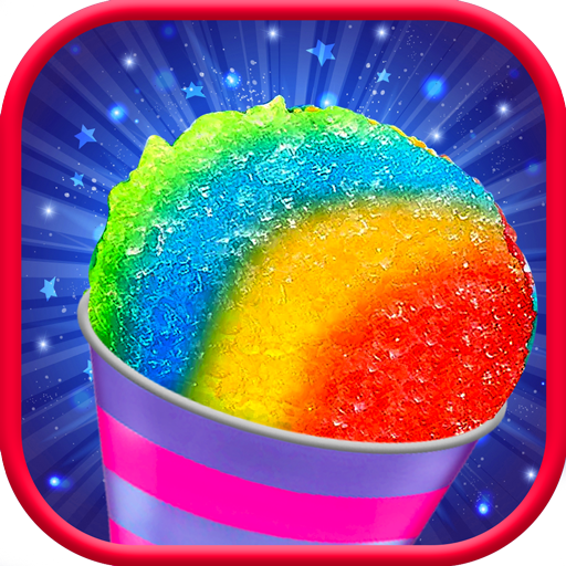 Snow Rainbow Ice Cone Maker Icy Candy fun 1.0.8 APKModDownload for android