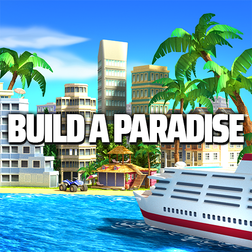 Tropic Paradise Sim Town Building Game 1.5.3 APKModDownload for android