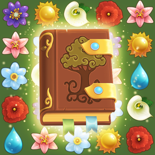 Flower Book Match-3 Puzzle Game 1.149 APKModDownload for android