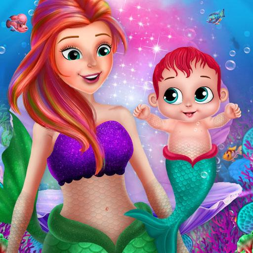 Little Mermaid Baby Care Ocean World 2.0 APKModDownload for android