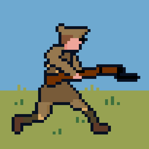 Pixel Trenches World War 1 2.0.1 APKModDownload for android