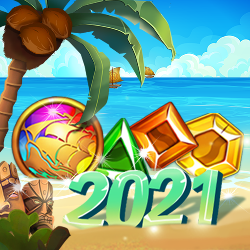 Sea of Jewels Aloha Match3 puzzle 1.0.8 APKModDownload for android