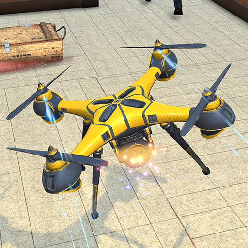 Drone Attack Flight Game 2020-New Spy Drone Games 1.5 APKModDownload for android