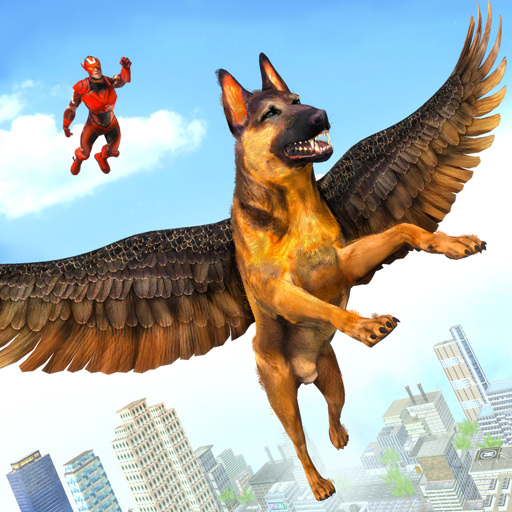 Flying Super Hero Dog City Animal Rescue 1.0.11 APKModDownload for android