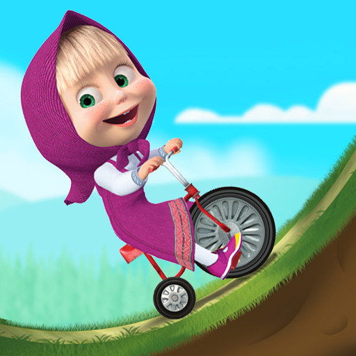 Masha and the Bear Climb Racing and Car Games 1.2.7 APKModDownload for android