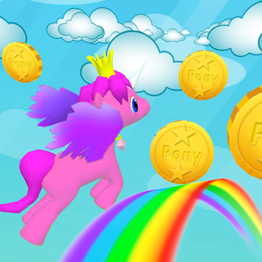 My Little Unicorn Dash 3D HD 1.15 APKModDownload for android