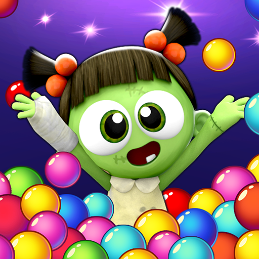 SPOOKIZ PANG Bubble Shooting Varies with device APKModDownload for android
