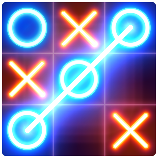 Tic Tac Toe glow - Free Puzzle Game 3.1 APKModDownload for android