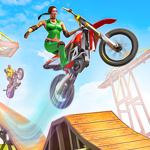 Bike Stunt 3D Moto Racing Games Bike Race Free APK Mod Download for android
