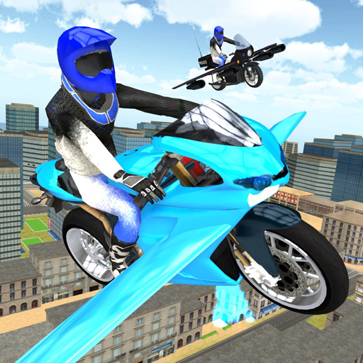 Flying Motorbike Simulator 1.20 APK Mod Download for android