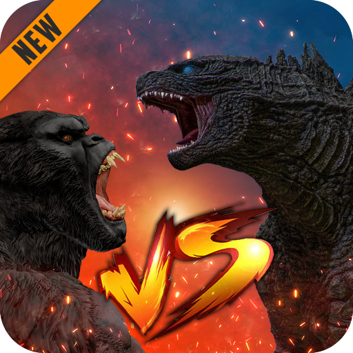 Godzilla Kong 2021 Angry Monster Fighting Games 3 APK Mod Download for android