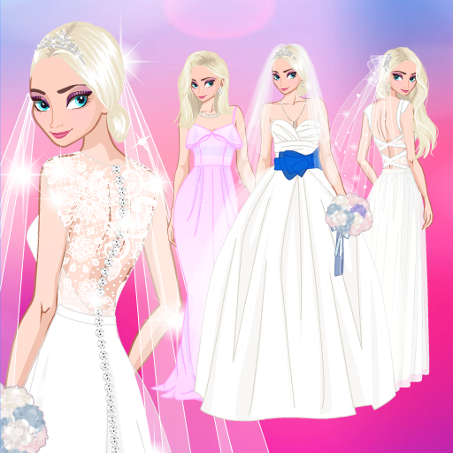 Icy Wedding Winter frozen Bride dress up game 1.0.0 APK Mod Download for android