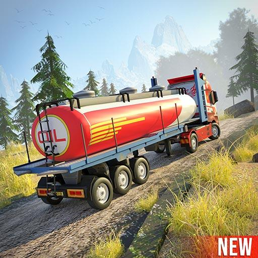 Offroad Oil Tanker Truck Simulator Driving Games APK Mod Download for android