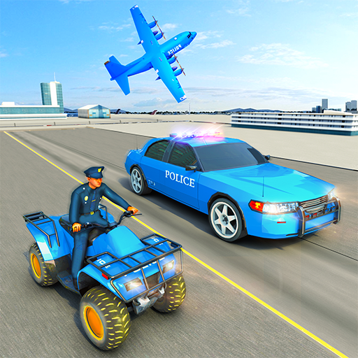 USA Police Car Transporter Games Airplane Games APK Mod Download for android