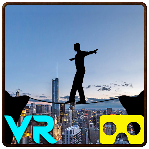 VR City View Rope Crossing - VR Box App 1.9 APK Mod Download for android