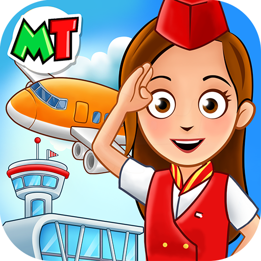 My Town Airport. Free Airplane Games for kids APK Mod Download for android