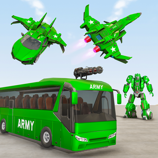 Army Bus Robot Car Game Transforming robot games APK Mod Download for android
