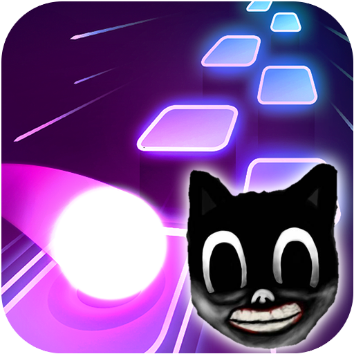 Cartoon cat - Hop round tiles edm rush APK Mod Download for android