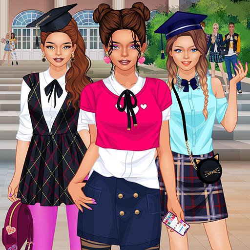 College Girls Team Makeover APK Mod Download for android