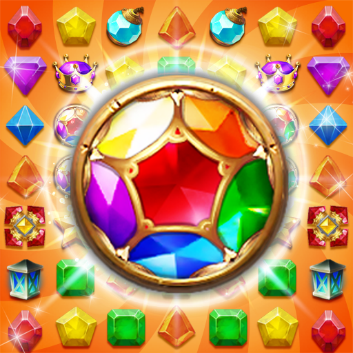 Jewels Cave Crush Match 3 Puzzle APK Mod Download for android