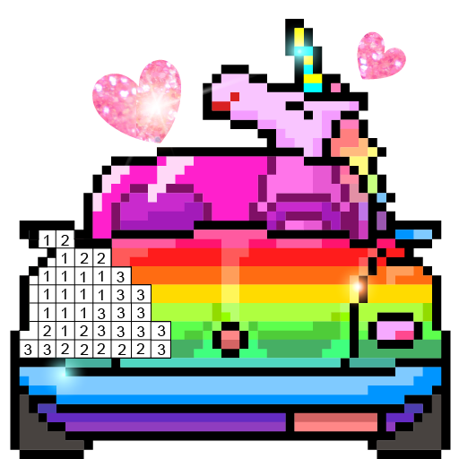 Pix123 - Color by Number Pixel Art Relaxing Paint APK Mod Download for android