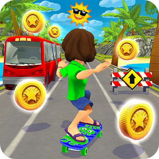 Skater Rush - Endless Skateboard Game APK Mod Download for android