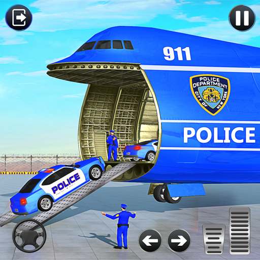 Grand Police Cargo Transport TruckCar Parking Sim APK Mod Download for android