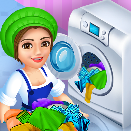 Laundry Shop Clothes Washing Game APK Mod Download for android
