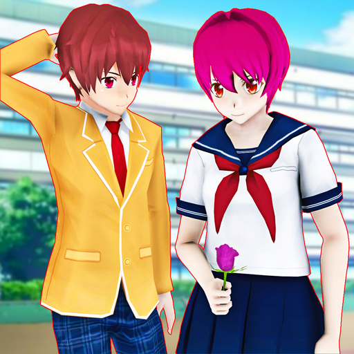 High School Girl Simulator 3D Anime School Games APK Mod Download for android